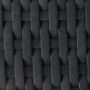 Black rattan