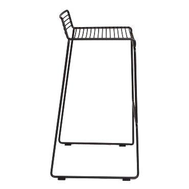 Tio bar stool - black - side