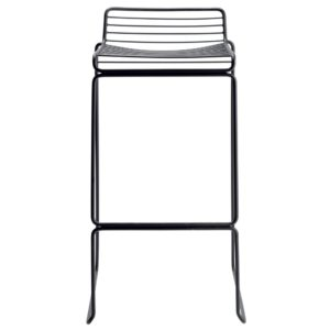 Tio bar stool - black