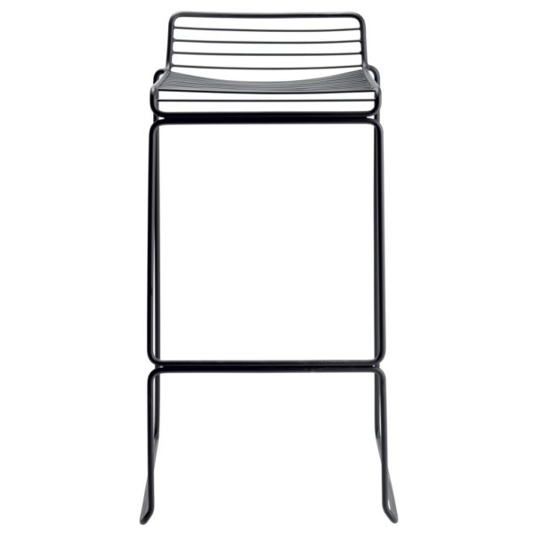 Tio bar stool - black