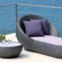 Circle sun lounger