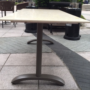 Long bistro table - side