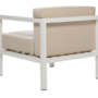 Mahir Club Chair - white