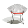 Bertoia Diamond chair - red seat