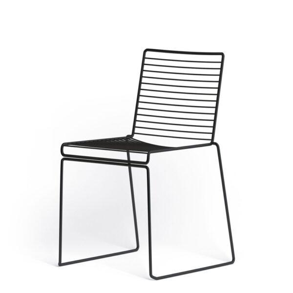 Hee dining chair - black